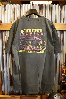 ROLLA'S × FORD COBRA POWER TEE (WASHED BLACK)
