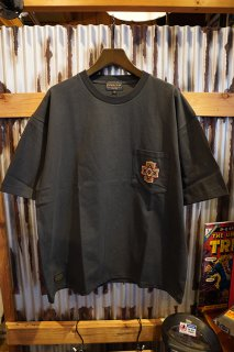 PENDLETON Embroidery Pocket Tee (Chacoal  Overall)