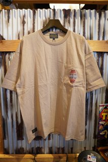 PENDLETON Embroidery Pocket Tee (Beige Canyonlands)