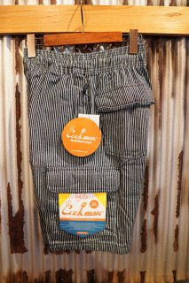 Cookman Chef Pants Short Cargo (Hickory Navy)