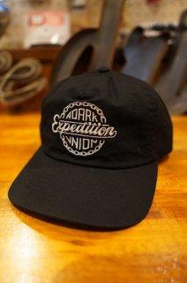 ROARK REVIVAL EXPEDITION UNION 5 PANEL CAP (BLACK)