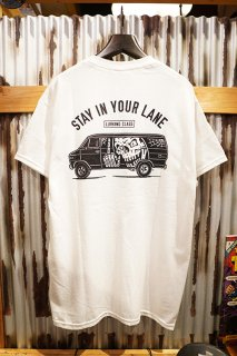 LURKING CLASS BY SKETCHY LANE TEE (WHITE)