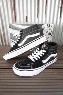 VANS Skate Grosso Mid (Black/White/Emo Leather)