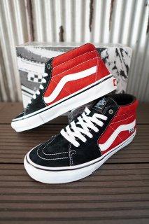 VANS Skate Grosso Mid (Black/Red)