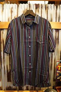 Barney Cools Holiday short-sleeve shirt (Slate Stripe)