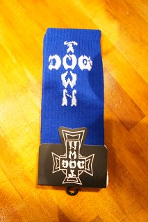 DOGTOWN DT Crew Socks -One Pair- (Royal Blue)