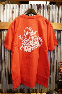 VANS GROSSO FOREVER T-SHIRT (Racing Red)