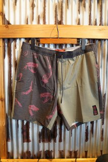 GLOBE Dion Agius Pool Short (Forest)