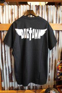 DOGTOWN WING LOGO T-shirt (Black)