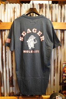 SEAGER MOLE IT TEE (INDIGO)