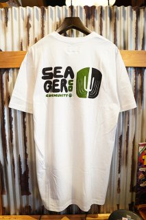 SEAGER SEAGER CO.MMUNITY TEE (White)