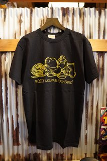 Rocky Mountain Featherbed Co. WESTERN OF THE LOOM TEE (BLACK)