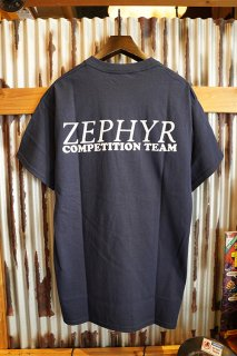 ZEPHYR COMPETITION TEAM LOGO S/S TEE (NAVY)