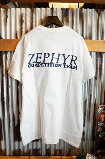 ZEPHYR COMPETITION TEAM LOGO S/S TEE (WHITE)