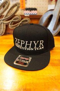 ZEPHYR COMPETITION TEAM LOGO SNAPBACK CAP (BLACK)