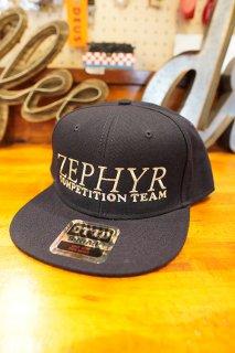 ZEPHYR COMPETITION TEAM LOGO SNAPBACK CAP (NAVY)