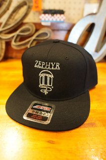 JEFF HO ZEPHYR COMPETITION TEAM LOGO SNAPBACK CAP (BLACK)