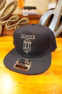 JEFF HO ZEPHYR COMPETITION TEAM LOGO SNAPBACK CAP (NAVY)