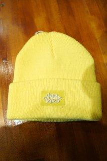 DEUS EX MACHINA Karoli Record Beanie (Fluoro Yellow)