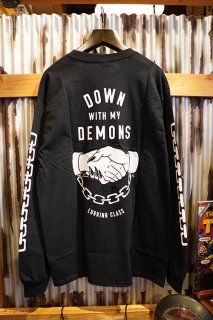 LURKING CLASS BY SKETCHY TANK DEMONS L/S TEE (BLACK)