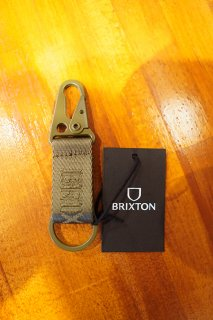 BRIXTON ALTON KEY CHAIN (MILITARY OLIVE)