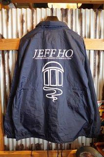 JEFF HO ZEPHYR LOGO COACH JACKET (NAVY)