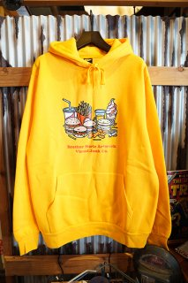 BROTHER MERLE Knit Hooded Pullover Think Big (Gold)