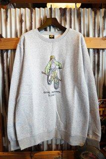 BROTHER MERLE Knit Crewnecks Boy Genius (Heather Grey)
