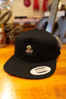 BROTHER MERLE Unstructured Snapback Betty (Black)