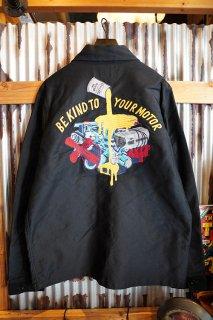 DEUS EX MACHINA Naito Chore Jacket (Black)
