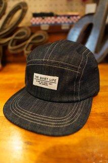 THE QUIET LIFE Contrast Stitch 5 Panel Camper Hat (DEN)