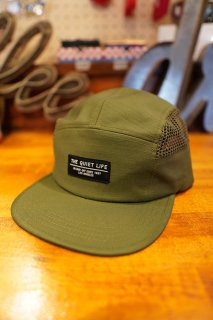 THE QUIET LIFE Military Mesh 5 Panel Camper Hat (ARM)