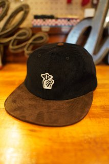 THE QUIET LIFE Felt Shhh Polo Hat -Made in USA- (BLK/DBRN)