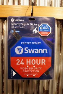 【Swann】ホームセキュリティーサイン