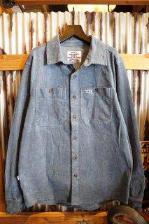 MISFIT SHAPES Pretend Loner LS Shirt (Washed Blue)