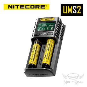 NITECORE UMS2 Intelligent USB Charger 2スロット 充電器