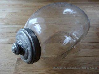 ネコガラス 猫瓶 気泡入り♪
