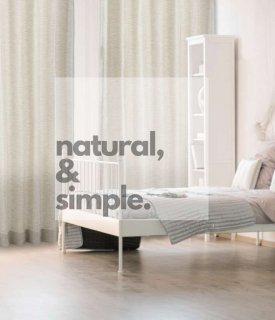 白い壁、ナチュラルな木の質感に合う、ワンランク上のおしゃれなボーダー織デザイン。 お洗濯できます。【FR0211 Lups ルプス GRY グレー】