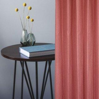 品質には自信があります!1級遮光、防炎しっかりとした素材感のマゼンタピンク。ご家庭でお洗濯ができる。【FR7089 Premierten PI ピンク】