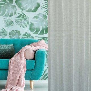 品質には自信があります!1級遮光、防炎しっかりとした素材感の明るいグレー。ご家庭でお洗濯ができる。【FR7091 Premierten GRY グレー】