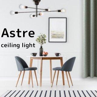 3つのスウィングアームでお好みのスタイリングが楽しめる。【Astre Celling Light アストル LT-2675・2676・2677/ 60W電球×6灯付属】