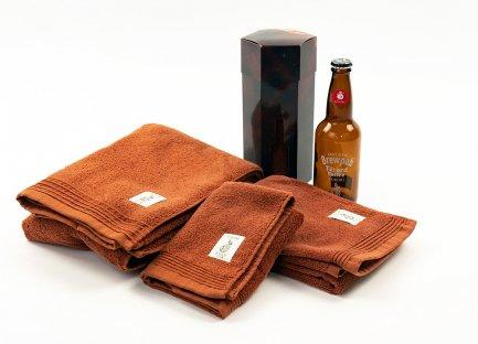 NOKORI-FUKU のこり福 地ビールタオル® | フェイスタオル