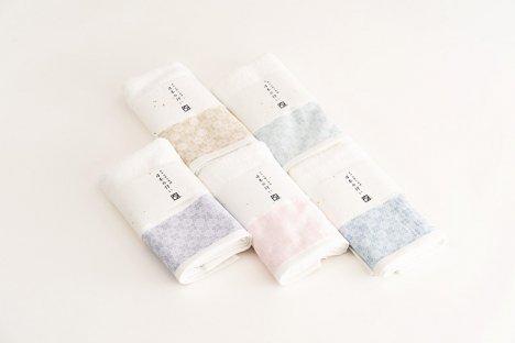 日本の佇い 袋織り  フェイスタオル