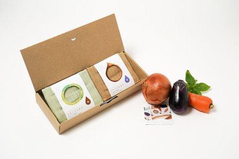 雫〜SHIZUKU〜おいしいキッチンタオル   ギフトセット(2枚箱入り)