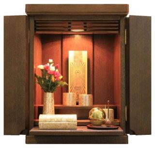 仏壇 ミニ仏壇 モダン仏壇 仏具一式セット コンパクト たまゆらりん モダン仏具 ゆい花(筒香炉)  洋風 リアン14号