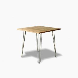 古材とアイアンのコンパクトテーブル