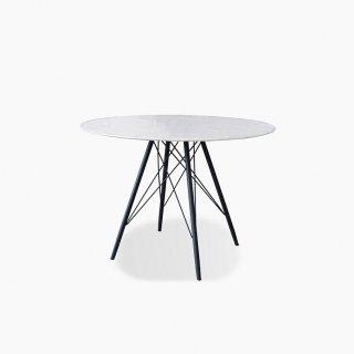 大理石の丸テーブル
