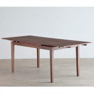 両サイドが伸縮できるダイニングテーブル