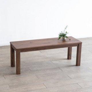 無垢材のベンチ 110cm