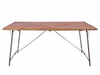 60年代から70年代のインダストリアルデザインを模倣したダイニングテーブル